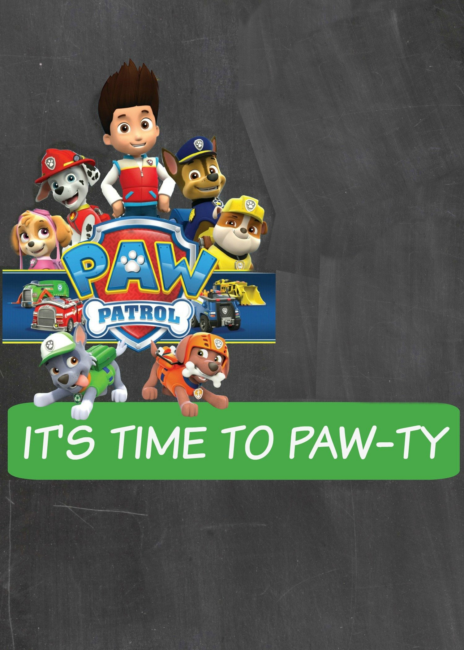 Free Paw Patrol Invitation Template How to Make A Paw Patrol Digital Invitation
