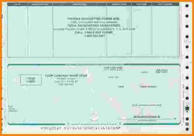 Free Payroll Checks Templates 7 Free Payroll Checks Templates