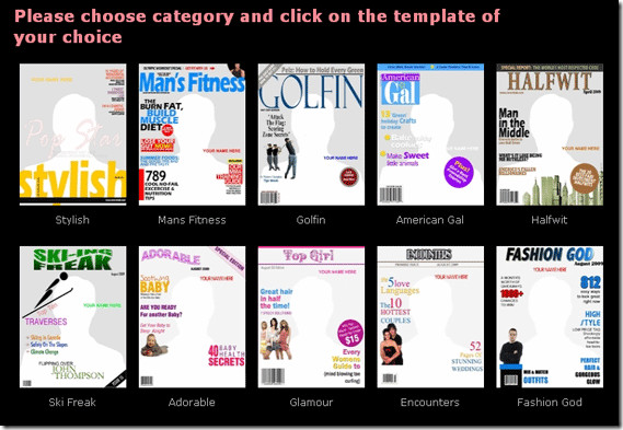 Free Personalized Magazine Covers Templates Create Your Own Custom Magazine Covers with Coverdude