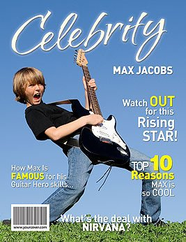Free Personalized Magazine Covers Templates Make A Custom Magazine Cover for Your Personal Celebrity