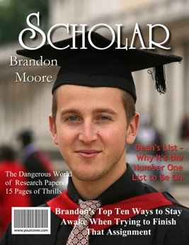 Free Personalized Magazine Covers Templates Scholar