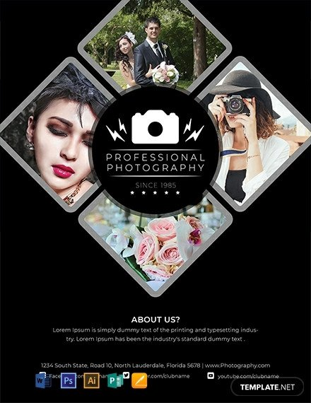 Free Photography Flyer Templates 19 Free Graphy Flyer Templates [download Ready Made