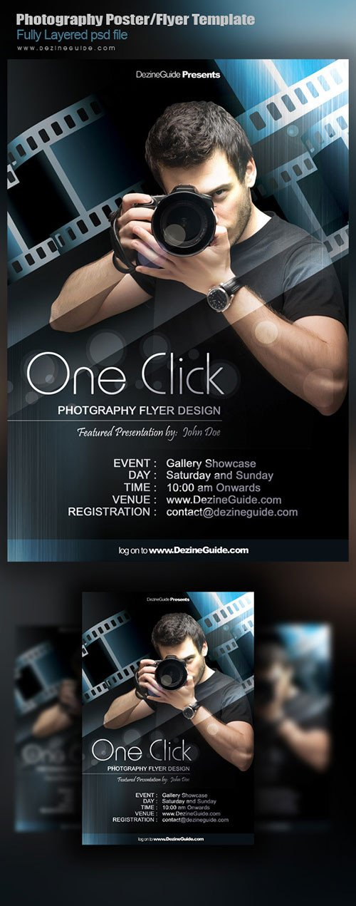 Free Photography Flyer Templates 32 Awesome Free Psd Flyer Templates