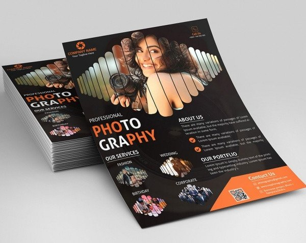 Free Photography Flyer Templates 38 Graphy Flyer Templates Psd Vector Eps Jpg