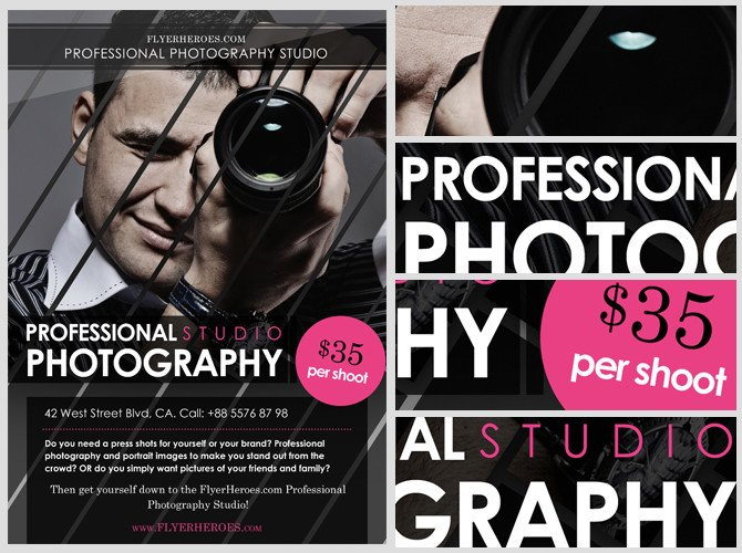 Free Photography Flyer Templates Free Graphy Flyer Template Flyerheroes
