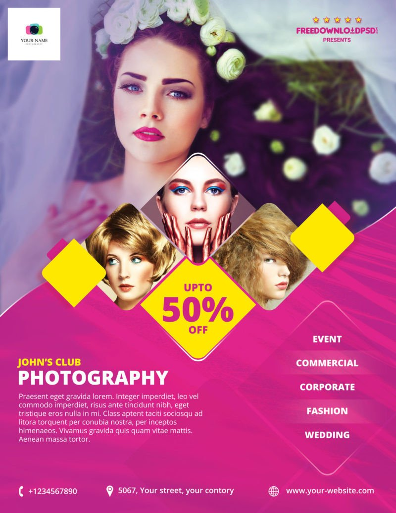 Free Photography Flyer Templates [free] Graphy Flyer Template