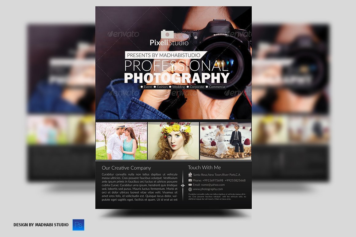 Free Photography Flyer Templates Graphy Flyer Flyer Templates Creative Market