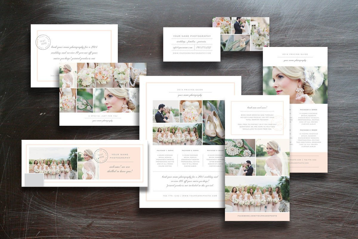 Free Photography Marketing Templates Grapher Marketing Set Other Presentation software