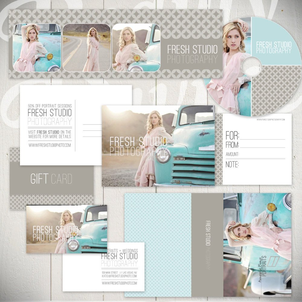 Free Photography Marketing Templates Graphy Marketing Templates Fresh Studio Marketing Set