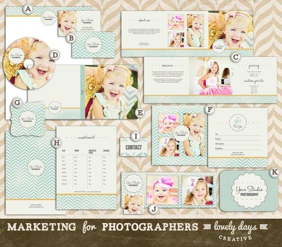 Free Photography Marketing Templates Graphy Marketing Templates Set for by Lovelydayscreative