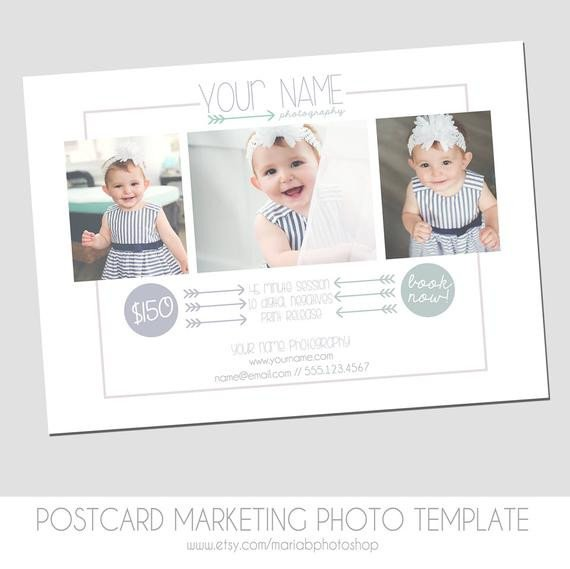 Free Photography Marketing Templates Graphy Postcard Mini Session Flyer Marketing Template