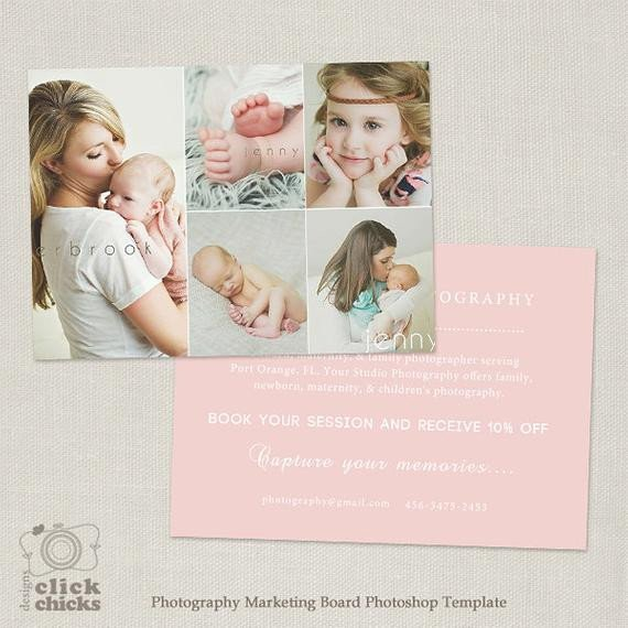 Free Photography Marketing Templates Promo Card Graphy Marketing Template Flyer Postcard