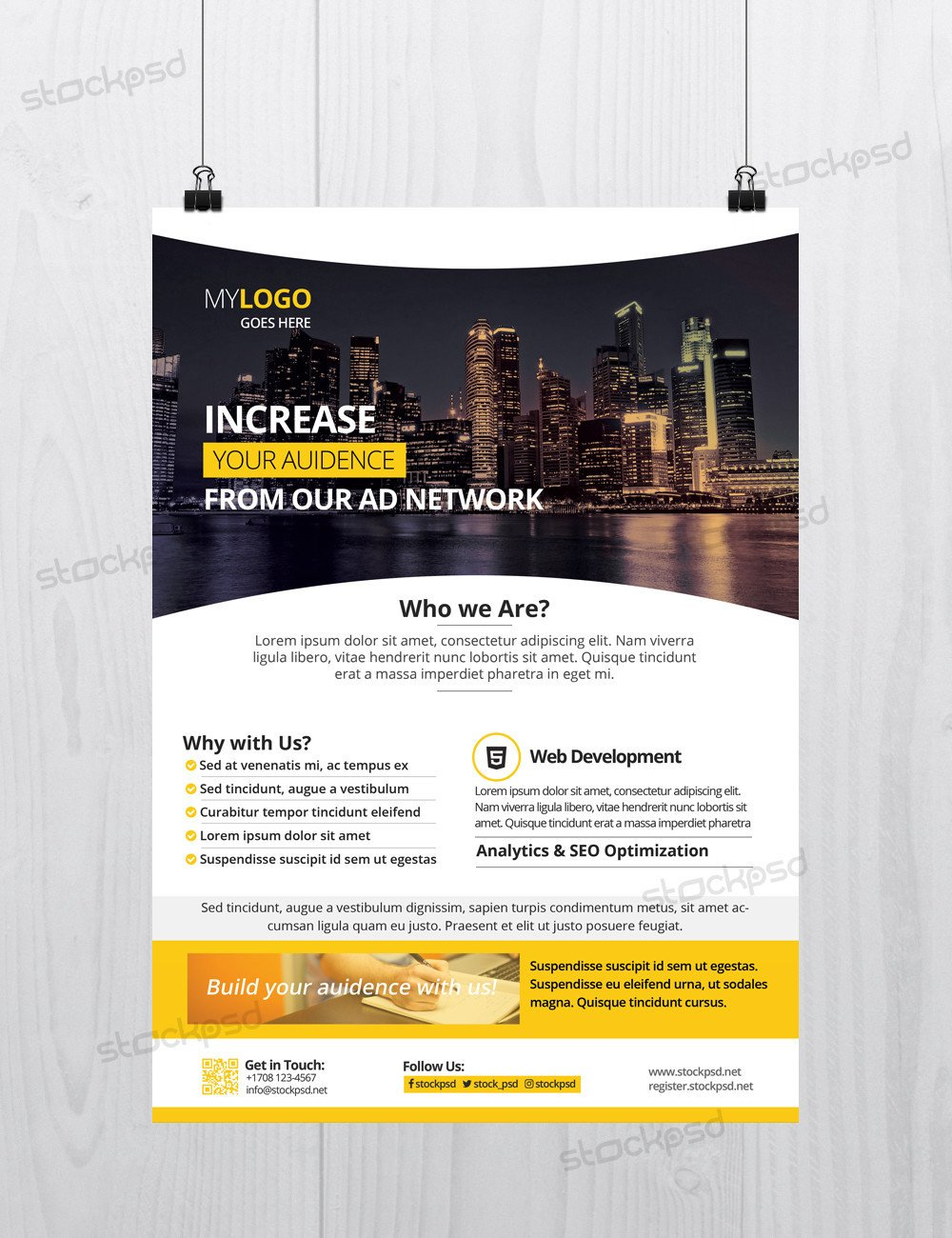 Free Photoshop Flyer Templates Corporate Download Free Shop Flyer Template Free