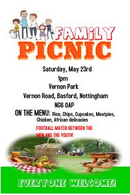 Free Picnic Flyer Template Barbecue Poster Templates
