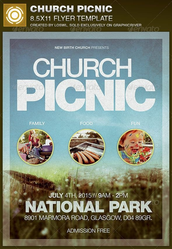 Free Picnic Flyer Template Best 20 Church Picnic Ideas On Pinterest