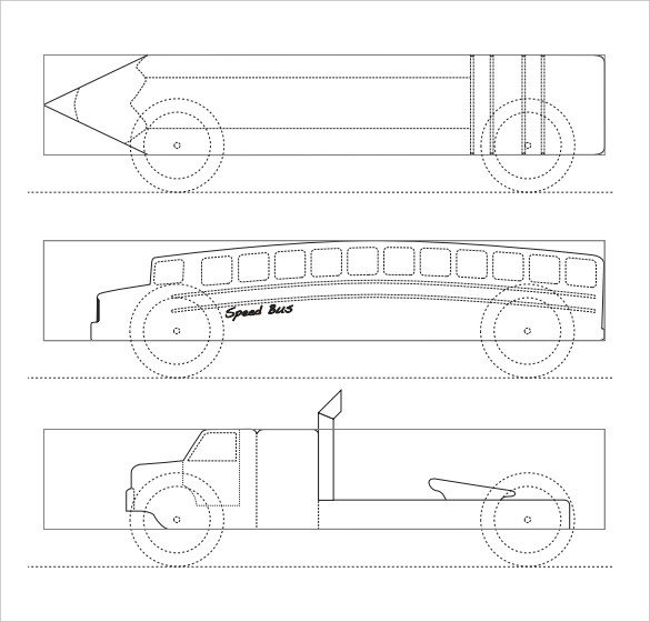 Free Pinewood Derby Templates 21 Cool Pinewood Derby Templates – Free Sample Example