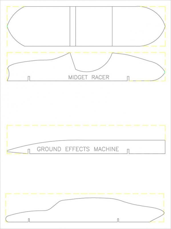 Free Pinewood Derby Templates Pinewood Derby Templates