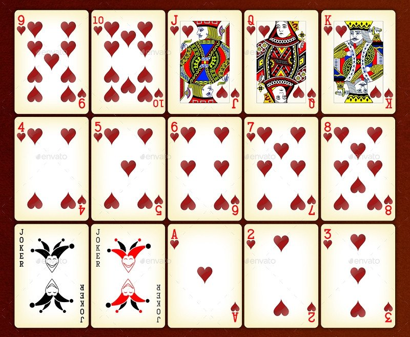 Free Playing Card Template 22 Playing Card Designs