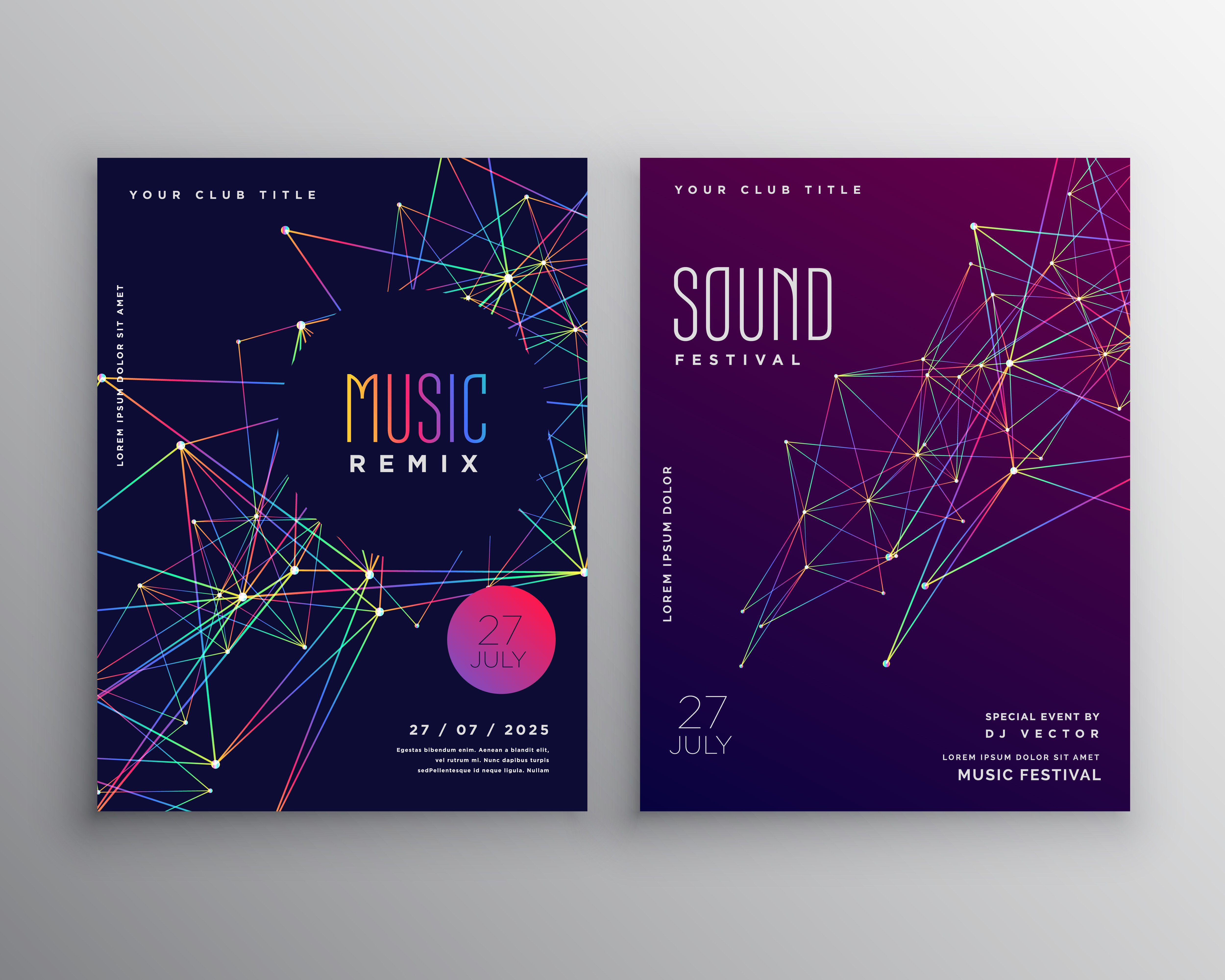 Free Poster Design Templates Free Poster Vector Art