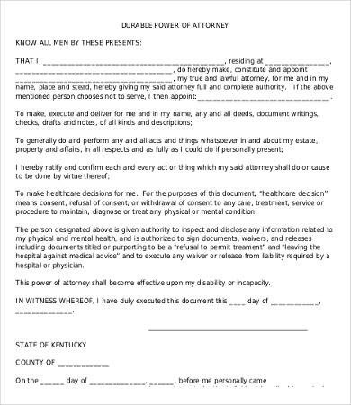 Free Power Of attorney Template Power attorney form Free Printable 9 Free Word Pdf