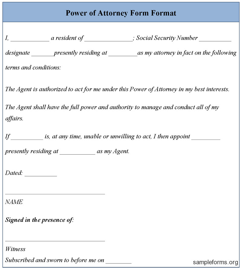 Free Power Of attorney Template Power Of attorney Revocation Document