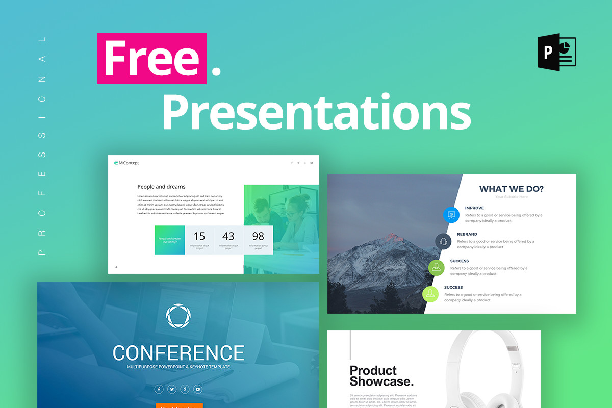 Free Power Point Templates 25 Free Professional Ppt Templates for Project Presentations