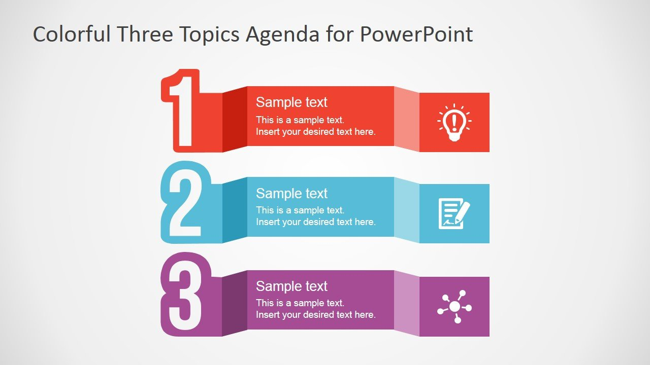 Free Power Point Templates Free Powerpoint Template for Agenda Design Slidemodel