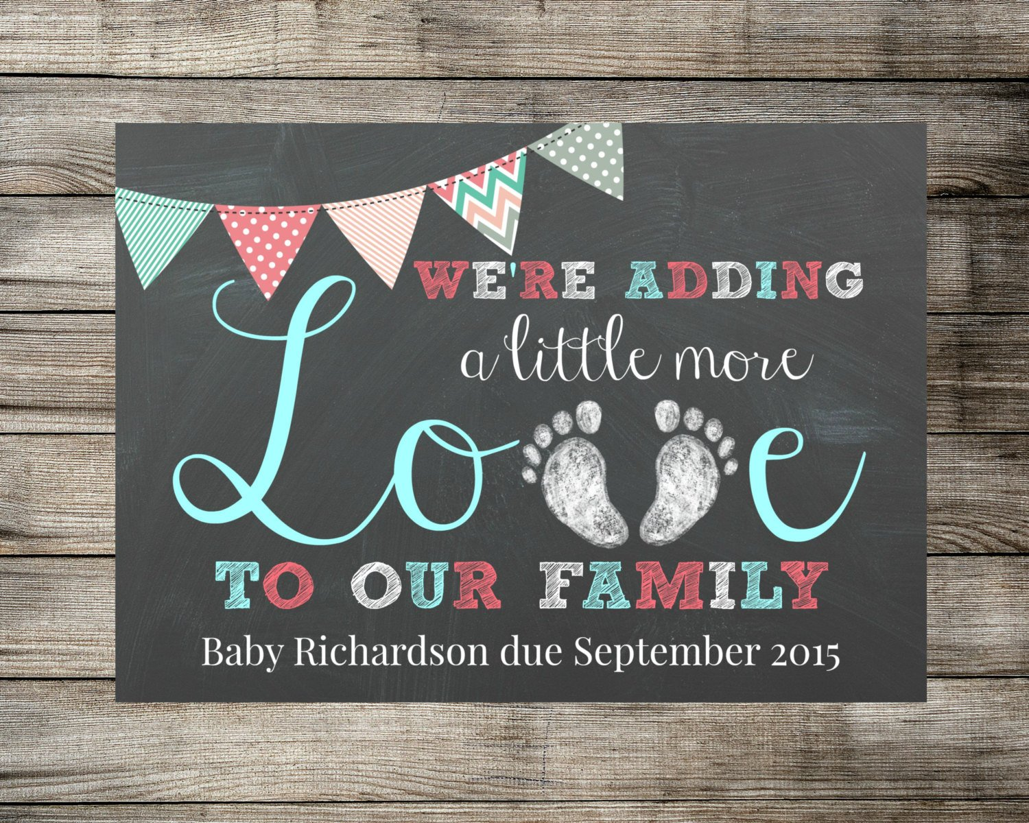 Free Pregnancy Announcement Templates Baby Pregnancy Announcement We Re Adding A Little More