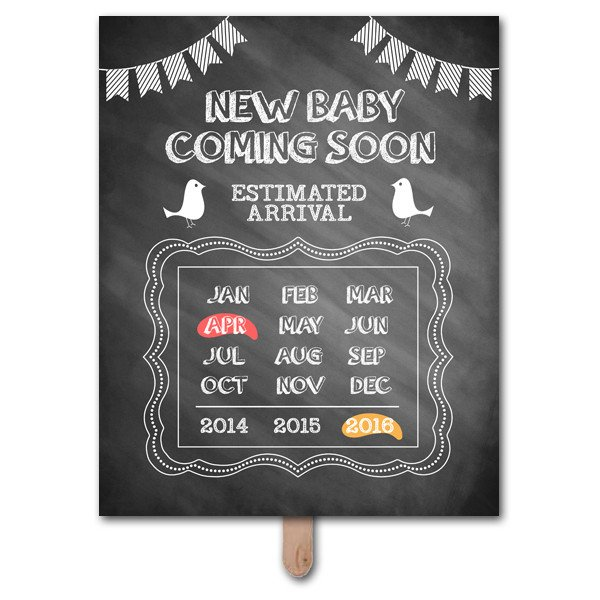 Free Pregnancy Announcement Templates Ing soon Pregnancy Announcement Prop Template