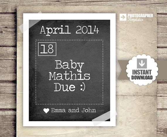 Free Pregnancy Announcement Templates Pregnancy Announcement Calendar Baby Announcement News