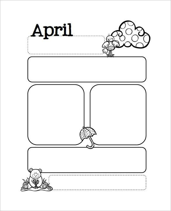 Free Preschool Newsletter Templates 13 Printable Preschool Newsletter Templates Free Word