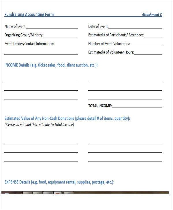 Free Printable Accounting forms 29 Printable Accounting forms