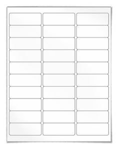 Free Printable Address Labels Template 1000 Images About Blank Label Templates On Pinterest