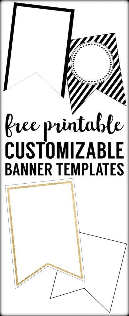 Free Printable Banner Templates Free Printable Banner Templates Blank Banners