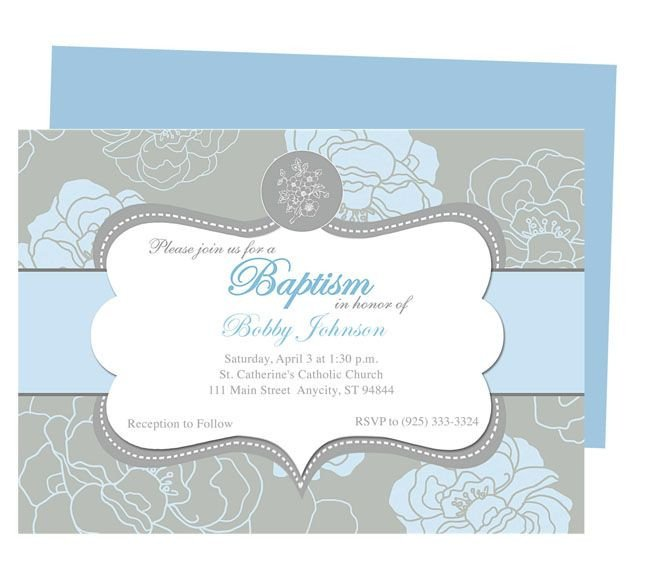 Free Printable Baptism Invitations 10 Best Images About Printable Baby Baptism and