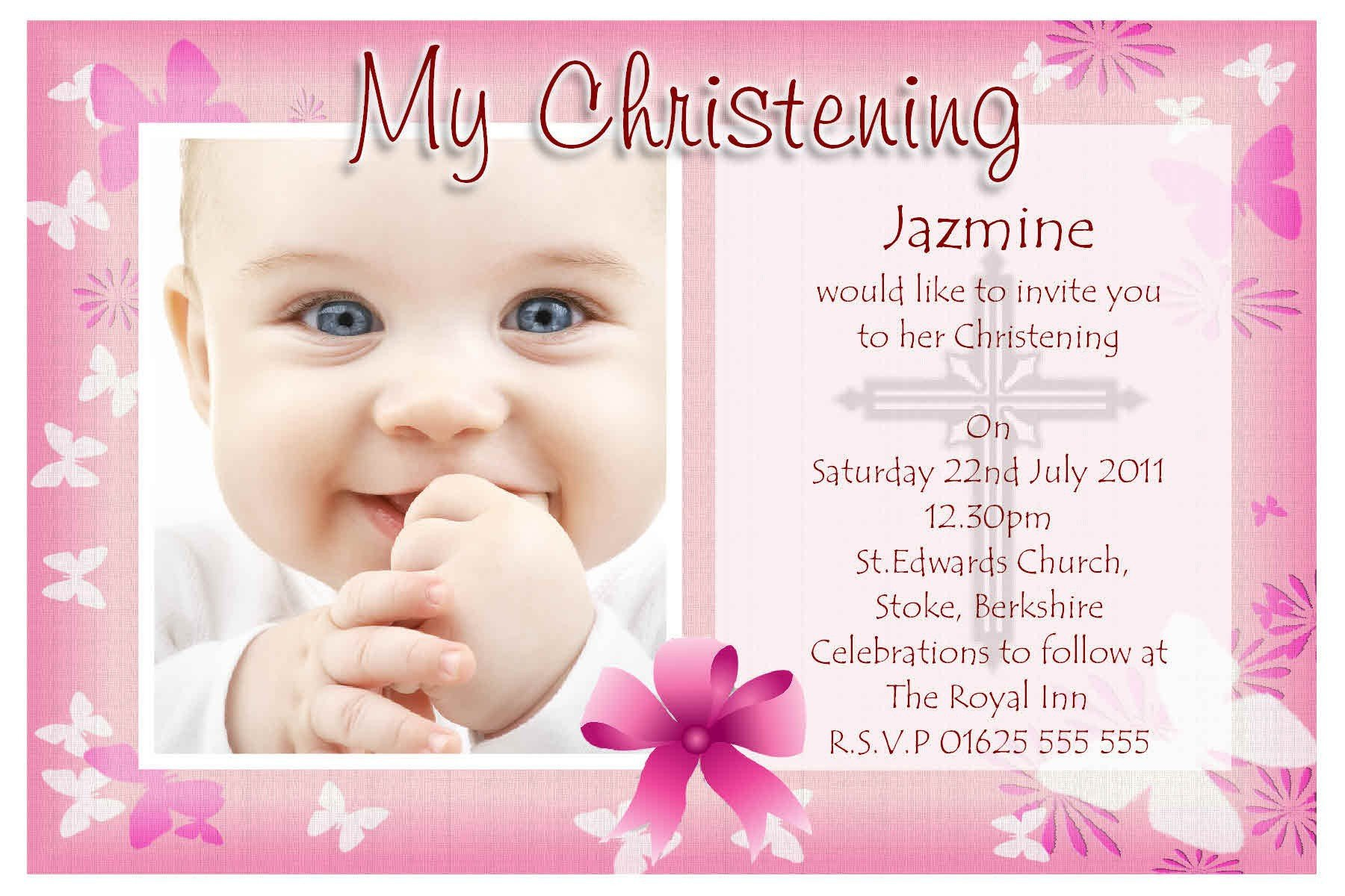 Free Printable Baptism Invitations Baptism Invitations Free Baptism Invitation Template