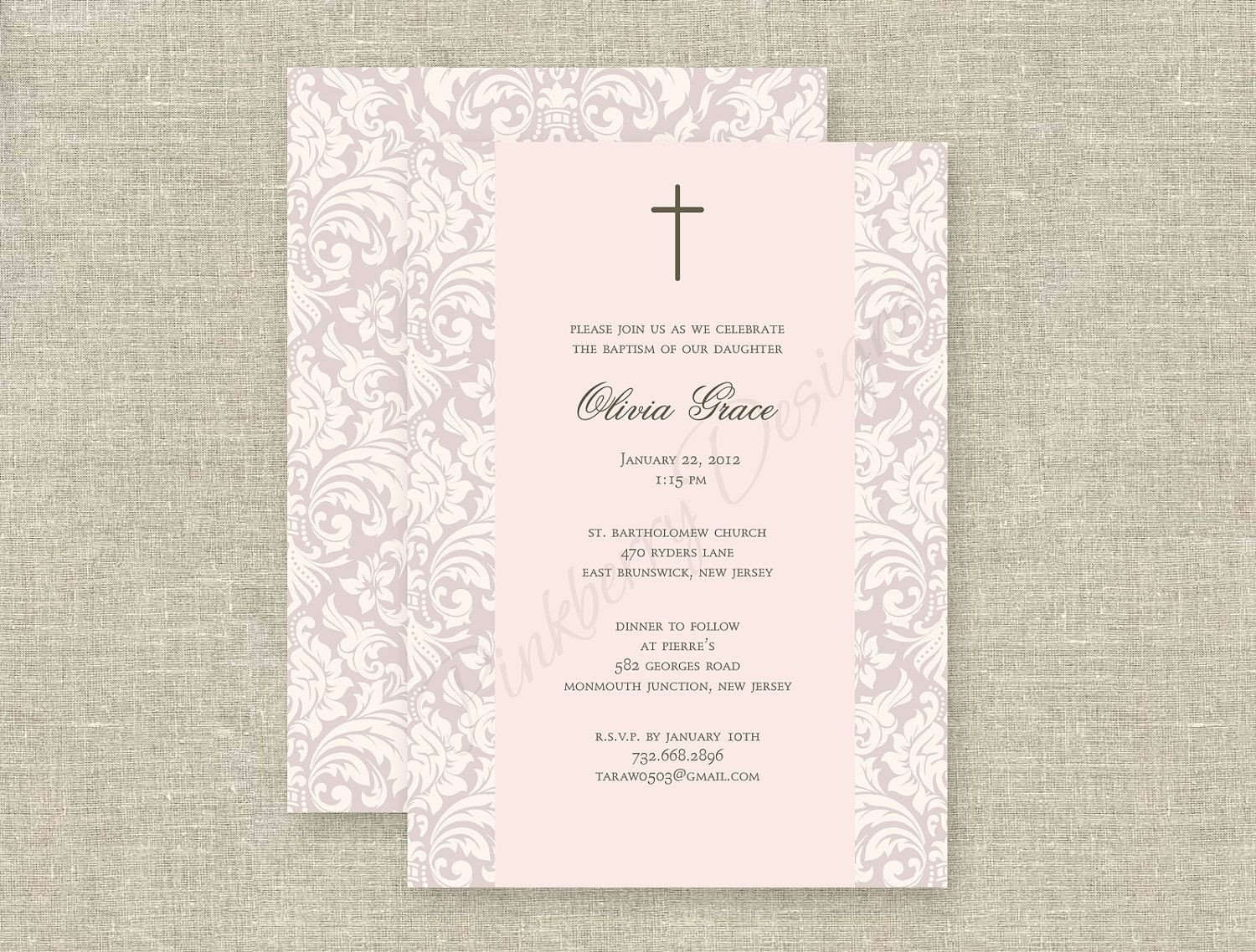 Free Printable Baptism Invitations Baptism Invitations In Spanish Baptism Invitations In