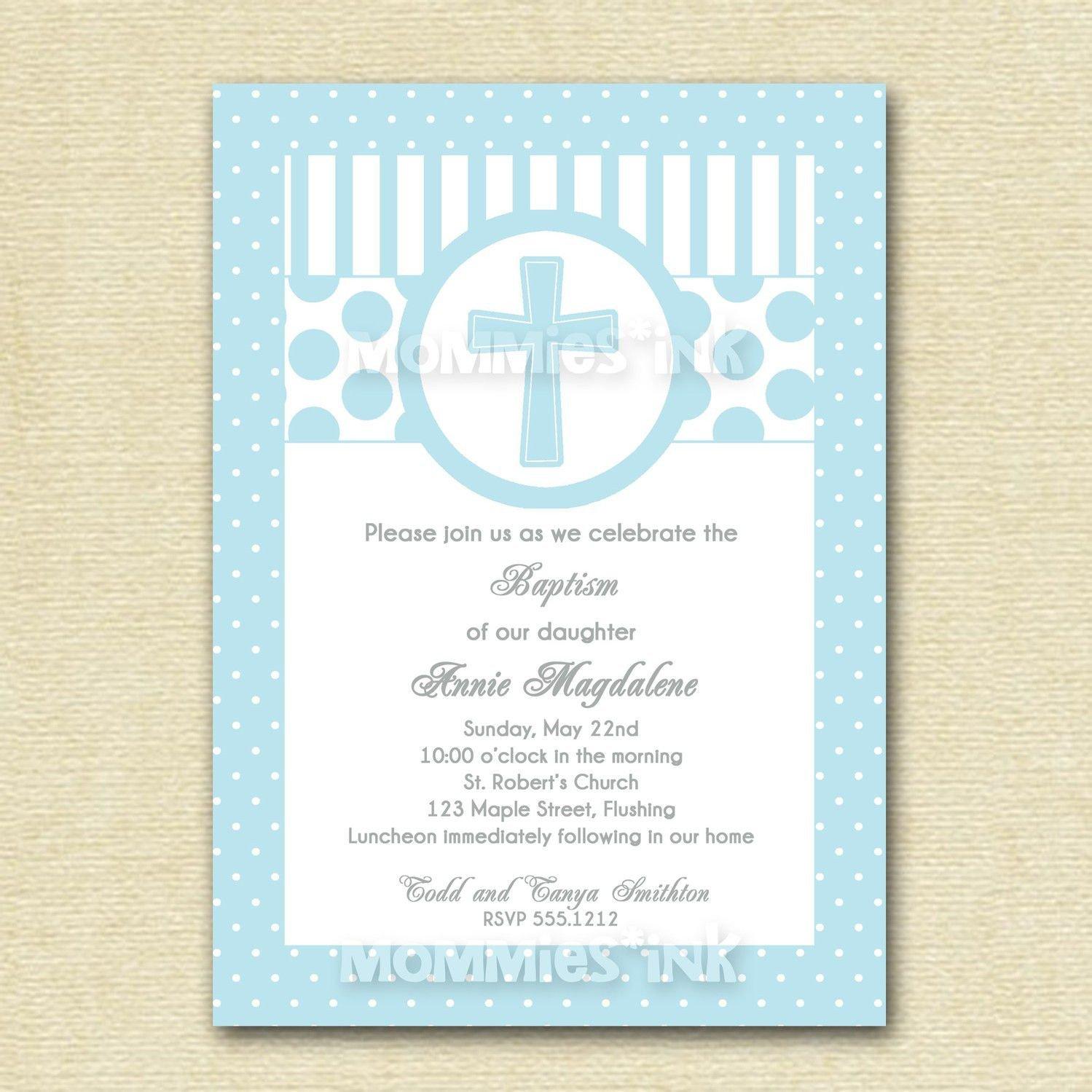 Free Printable Baptism Invitations Baptism Vitations All About Baptism Invitation Cards