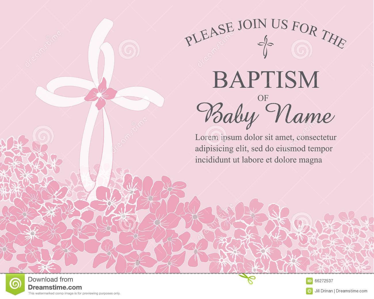 Free Printable Baptism Invitations Baptismal Invitation Template Baptism Invitation