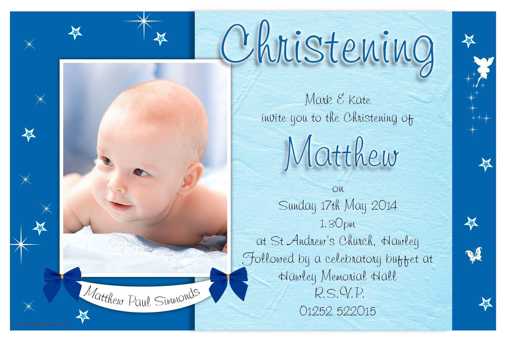 Free Printable Baptism Invitations Free Christening Invitation Template Printable