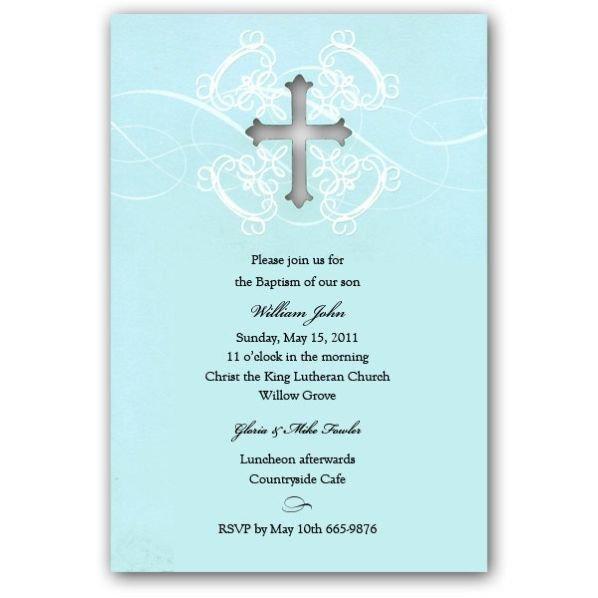 Free Printable Baptism Invitations Free Print Baptism Invitation