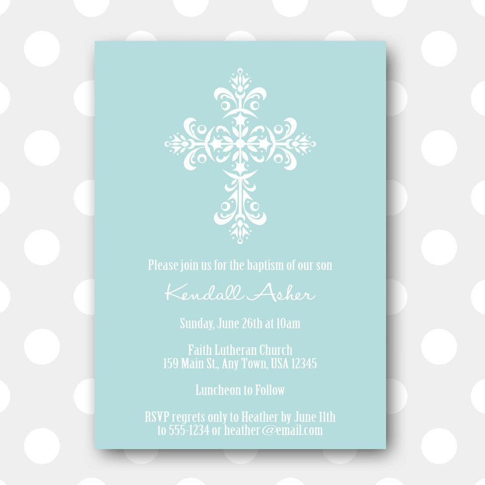 Free Printable Baptism Invitations Free Printable Baptism Invitations Free Printable