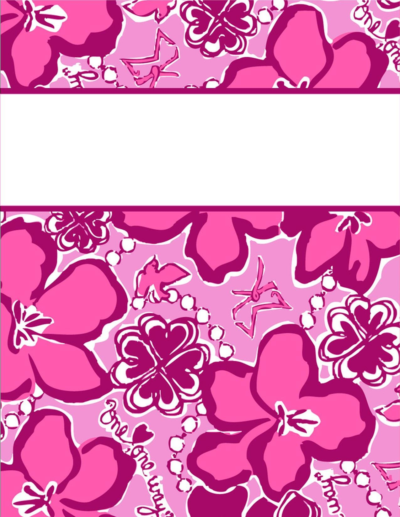 Free Printable Binder Covers My Cute Binder Covers