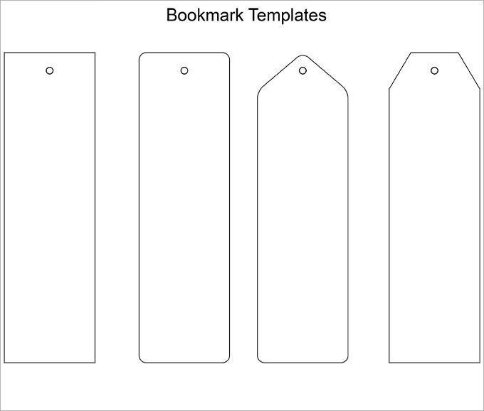 Free Printable Bookmark Templates Blank Bookmark Template 135 Free Psd Ai Eps Word
