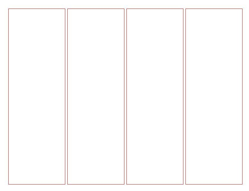 Free Printable Bookmark Templates Blank Bookmark Template for Word
