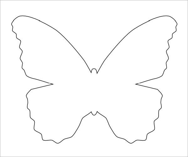 Free Printable butterfly Template 10 butterfly Samples Pdf