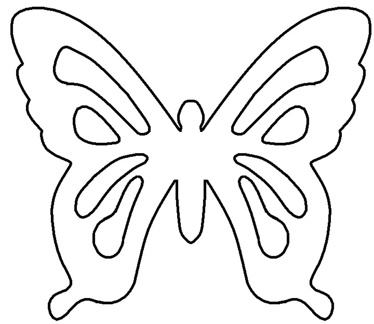 Free Printable butterfly Template Gladness Of Heart Diy White Chocolate butterfly Pattern