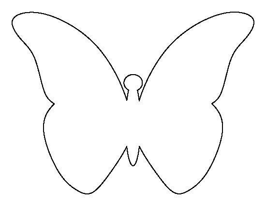 Free Printable butterfly Template Pin by Muse Printables On Printable Patterns at