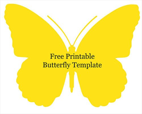 Free Printable butterfly Template Quilled butterfly Crafts with Wikki Stix