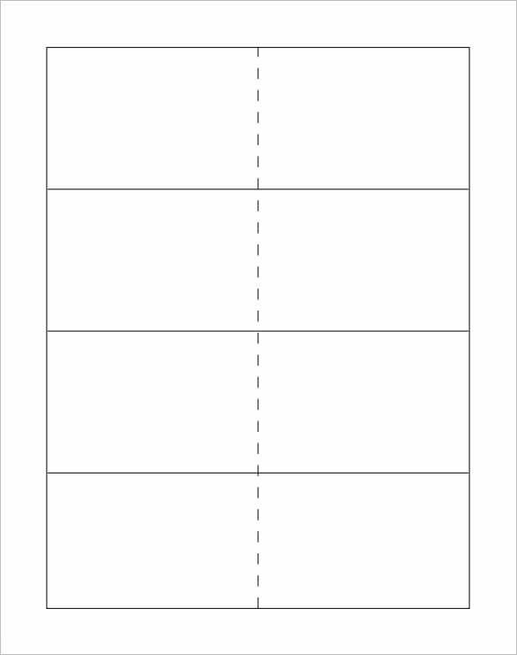 Free Printable Card Templates 10 Flash Card Templates Doc Pdf Psd Eps
